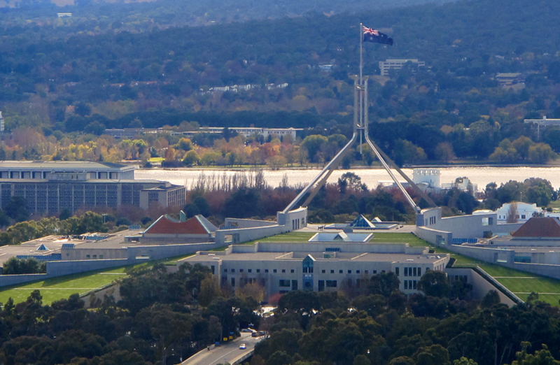 The Parliament - Canberra