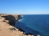 The Nullarbor cliffs