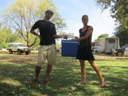 Gautier et Sandra backpackers en Australie