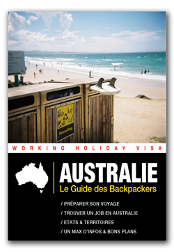 Australie Guide Backpackers 2015 couverture