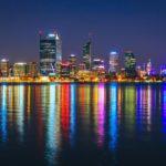 Perth, leur ville d'arrivée en Australie