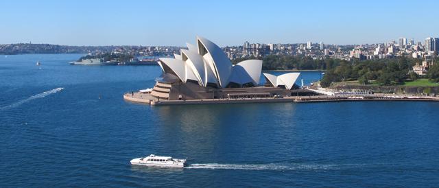 La baie de Sydney Australie