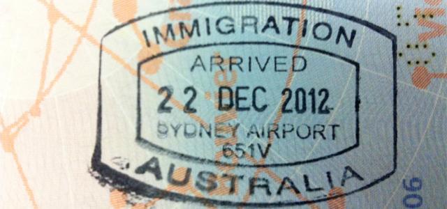 quel visa australie