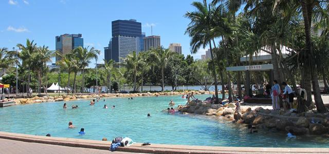 Brisbane Street Beach en Australie