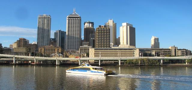 Brisbane, leur ville d'arrivée en Australie