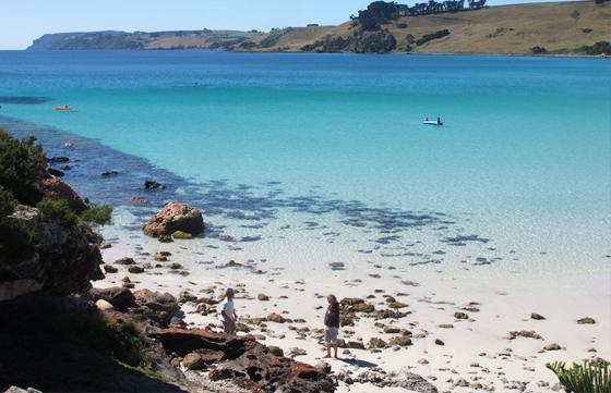 Découverte Australie plage