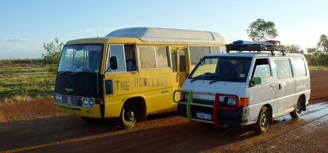 vivre dans un van en australie