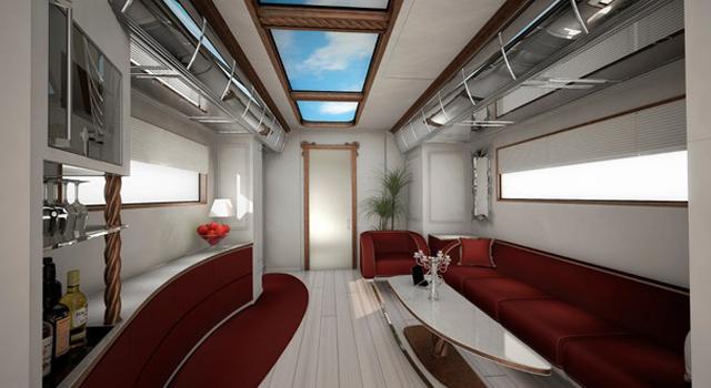 Marchi Mobile inside vans insolite