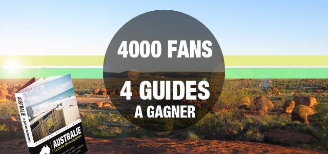 À GAGNER : 4 exemplaires du Guide des Backpackers