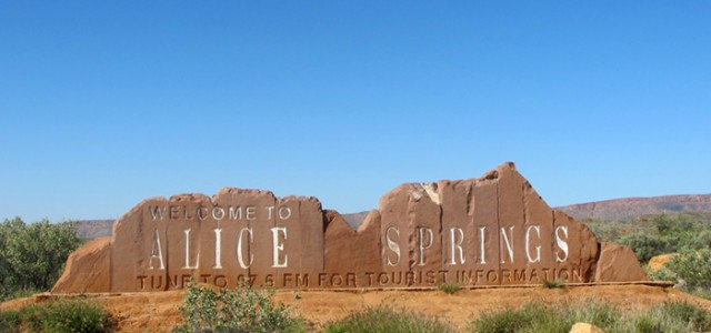 Visite de Alice Springs – Australie