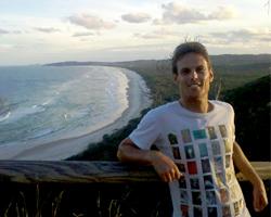 Christophe reporter Australie