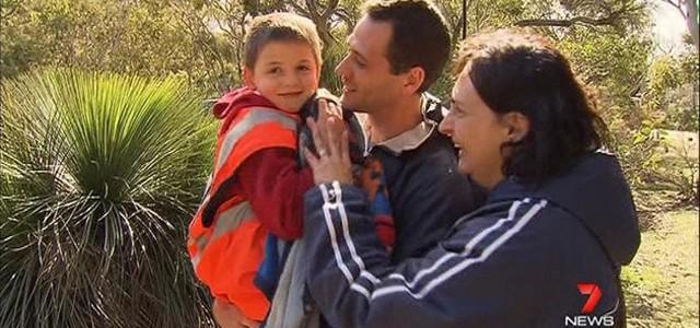 un enfant sauv u00e9 par un kangourou en australie du sud