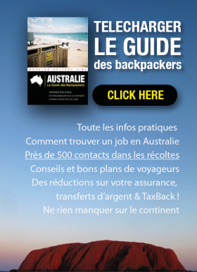 Bandeau Télécharger Australie Guide Backpackers
