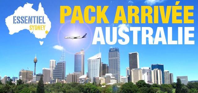 Pack arrivée WHV Australie – Essentiel Sydney