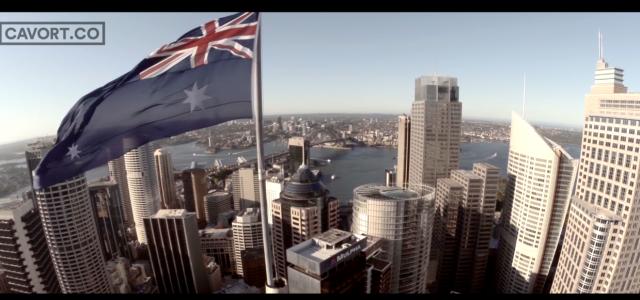 Une vidéo spectaculaire de Sydney filmée par un drone
