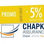 Code promo Chapka, assurance santé CAP Working holiday