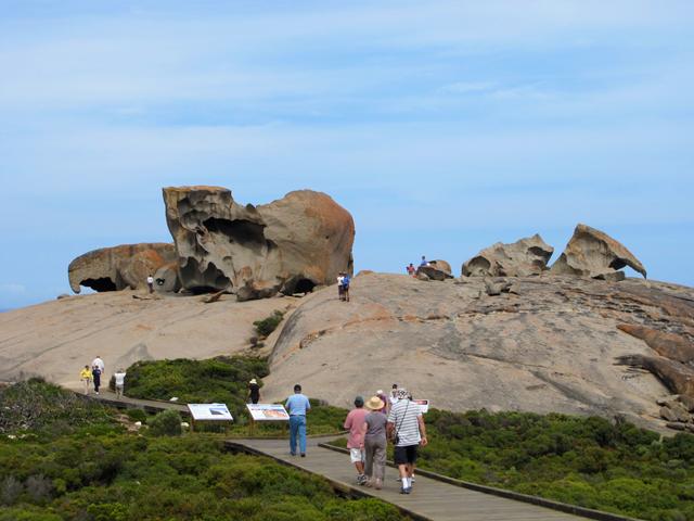Kangaroo Island Admirable Rocks