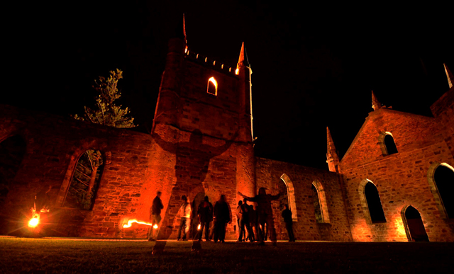 Port Arthur ghost tour australia
