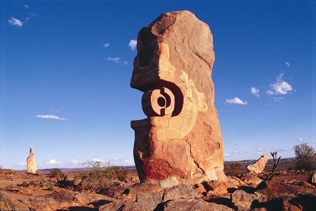 statue Broken Hill Australia