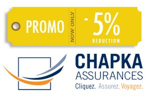 Code promo Chapka - Assurance PVT