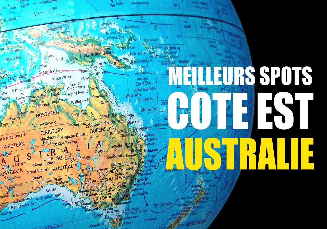 meilleurs spots cote est australie