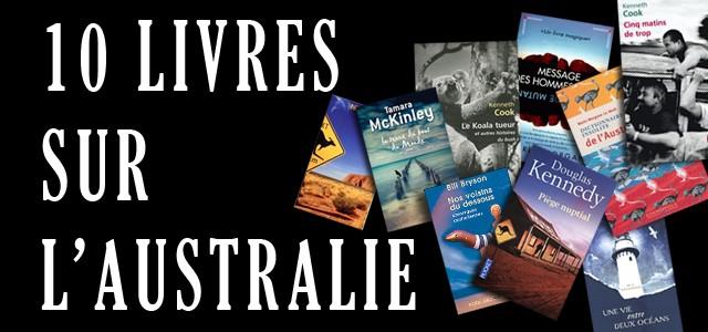 10 livres sur l'Australie