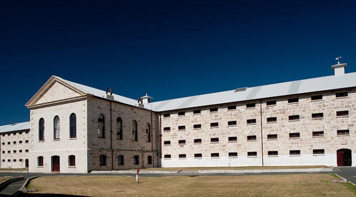 Prison auberge Australie Fremantle