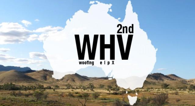 Second WHV en Australie : exclusion du Wwoofing et du Helpx