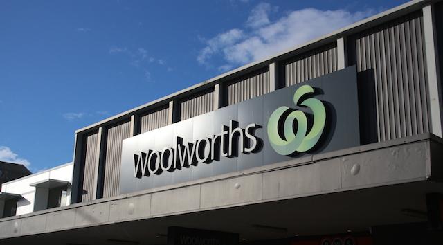woolworth faire ses courses en australie