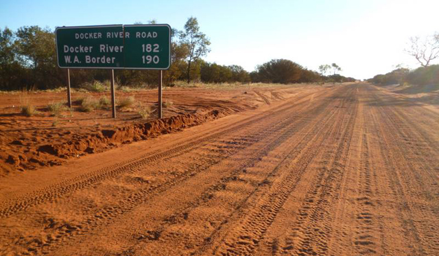 Dirt road australia