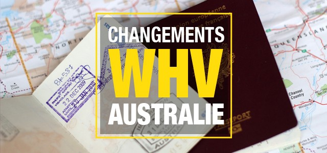 Working Holiday Visa : Importants changements pour 2016