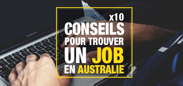 trouver un job en australie