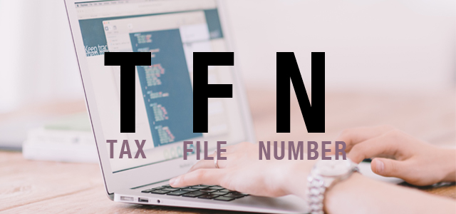 tax file number  tfn  - faire sa demande