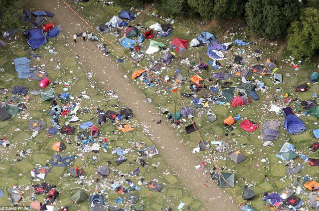 Déchets camping australie 2