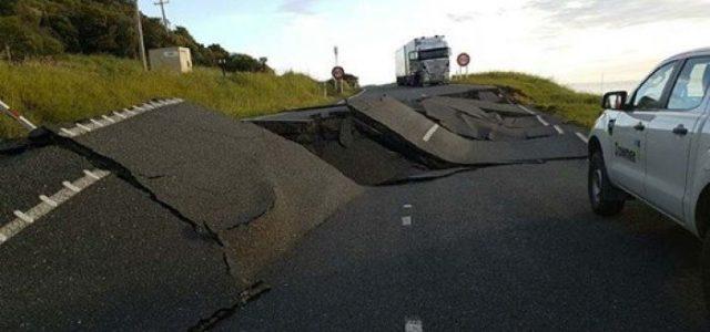 Un tremblement de terre frappe la Nouvelle-Zélande