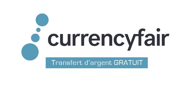 CurrencyFair : 5 transferts gratuits