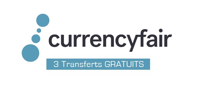 CurrencyFair : 3 transferts gratuits
