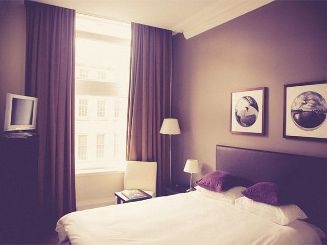 Housekeeping hotel room
