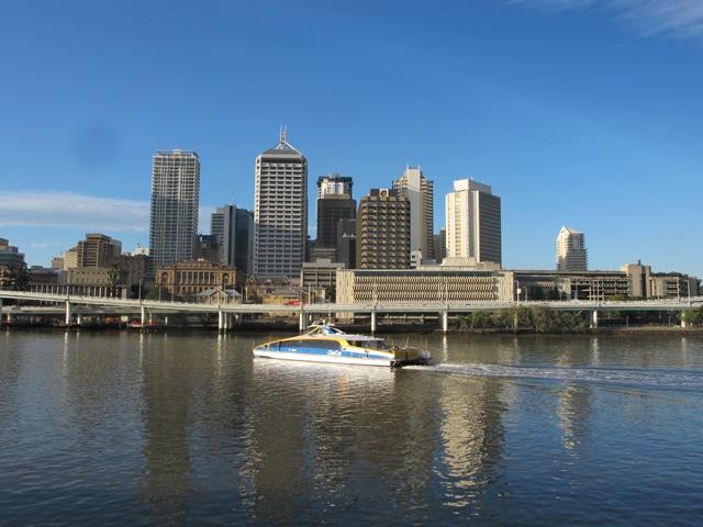 Ferry à Brisbane