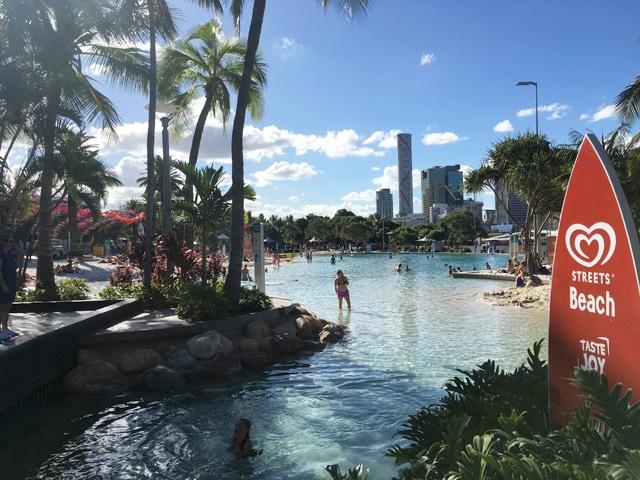 La street beach à Brisbane