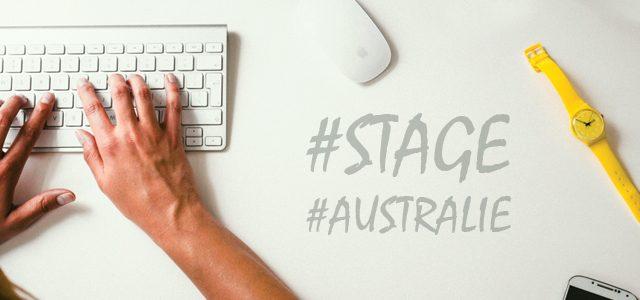 Faire un stage en Australie