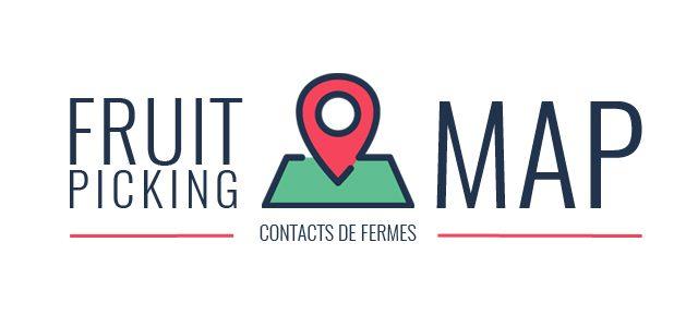 La carte du Fruit Picking – Contacts de fermes