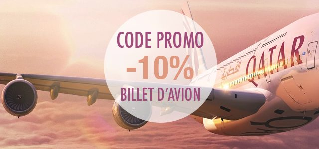 Code promo Qatar Airways – Réduction billets d'avion