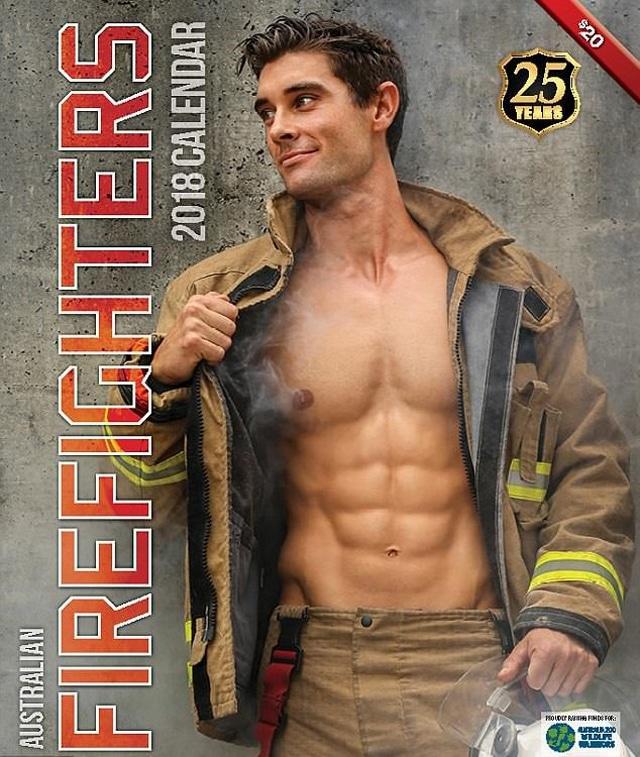 calendrier pompiers australiens 2018 c