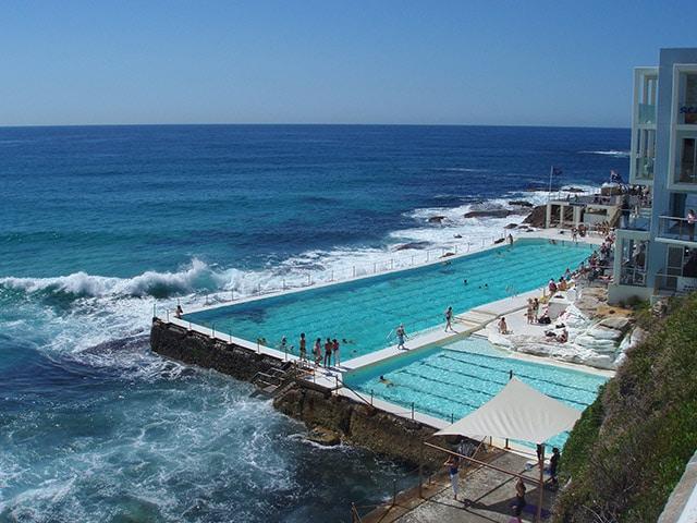 bondi sydney plages d'Australie