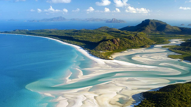 best beaches in australia Whitehaeven