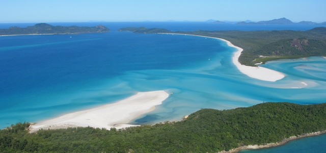 visiter les whitsunday islands en australie