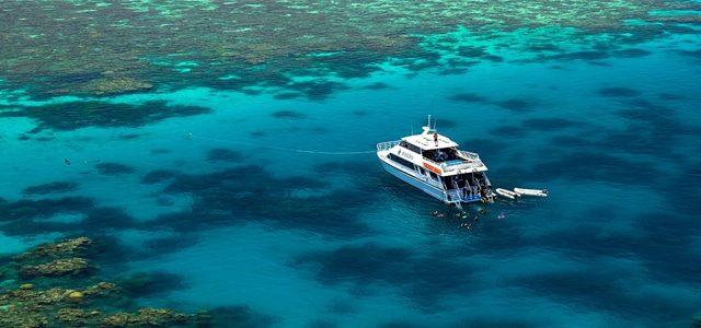 Excursion sur la grande barrière de Corail avec Poséidon