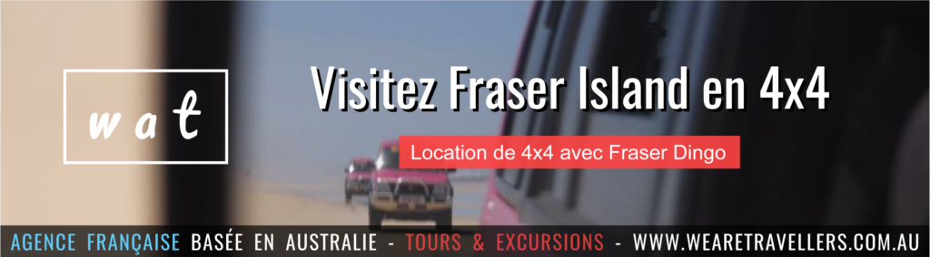 Fraser dingo location de 4x4