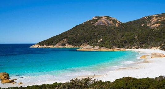 two people bay plage australie albany